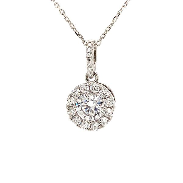 Sterling Silver Cubic Zirconium Pendant Necklace Texas Gold Connection Greenville, TX