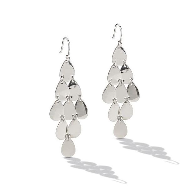 Sterling Silver Tiered Drop Earrings Texas Gold Connection Greenville, TX