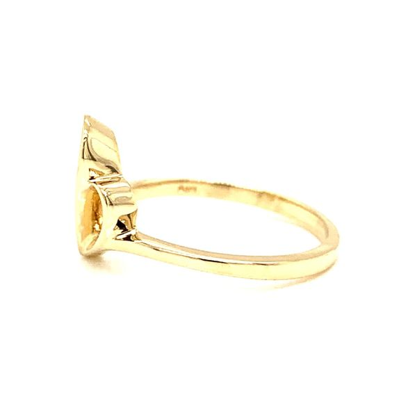 PRE-OWNED 14K Yellow Gold Free Form Ring Image 2 Texas Gold Connection Greenville, TX