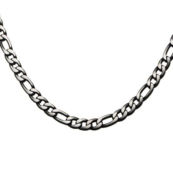 Black Plated Figaro Chain Necklace Texas Gold Connection Greenville, TX
