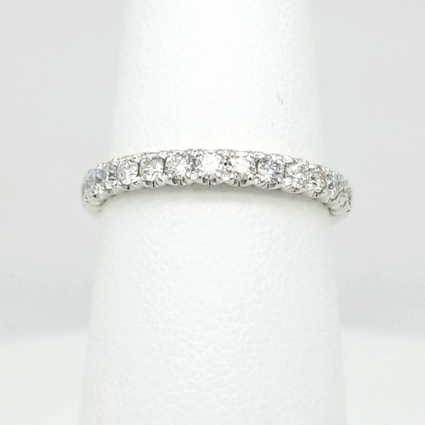 14kt WG .51ct TW Diamond Band Carroll's Jewelers Doylestown, PA