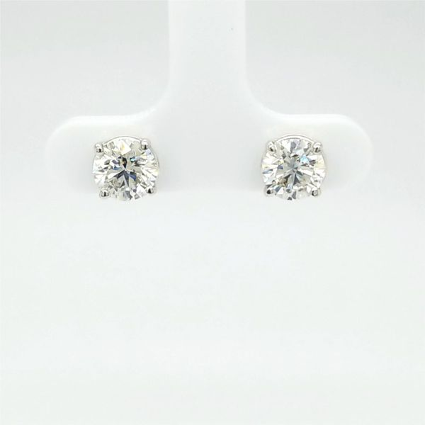 14kt WG 2.09ct TW Lab Grown Diamond Studs Carroll's Jewelers Doylestown, PA