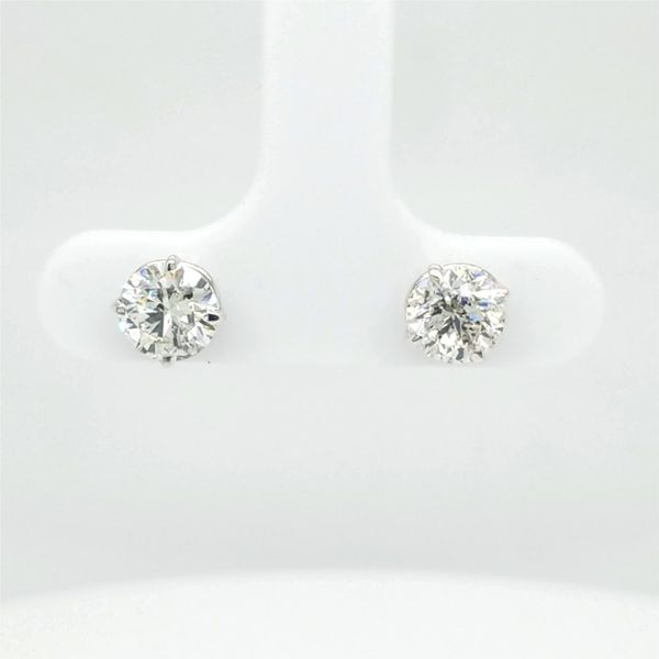 14kt WG 1.50ct TW Diamond Studs Carroll's Jewelers Doylestown, PA