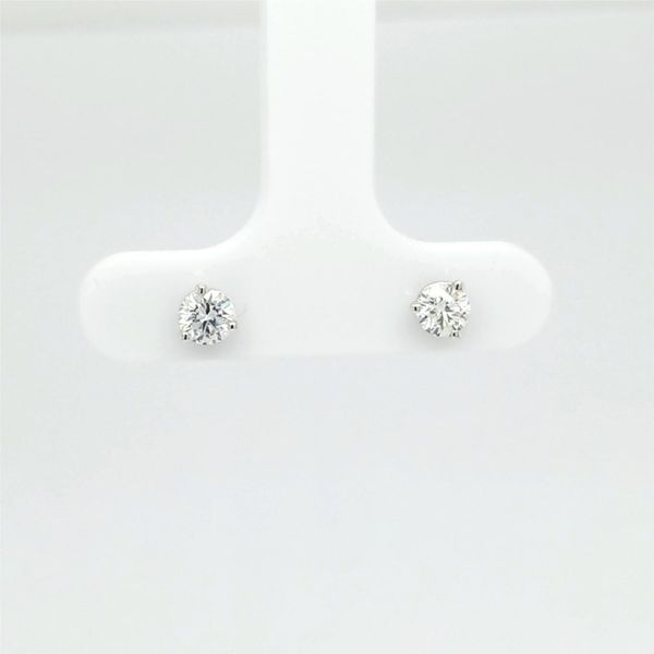 14kt WG .50ct TW Lab Grown Diamond Studs Carroll's Jewelers Doylestown, PA