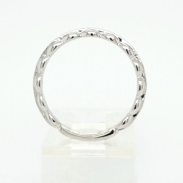 14kt WG stacking ring. Image 2 Carroll's Jewelers Doylestown, PA