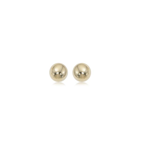 14kt YG 8mm Ball Stud Stud Earrings Carroll's Jewelers Doylestown, PA