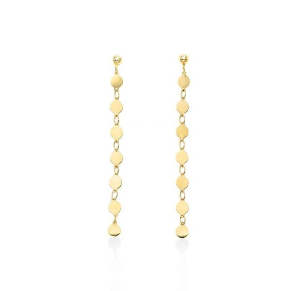 14kt YG Dangle Earrings Carroll's Jewelers Doylestown, PA