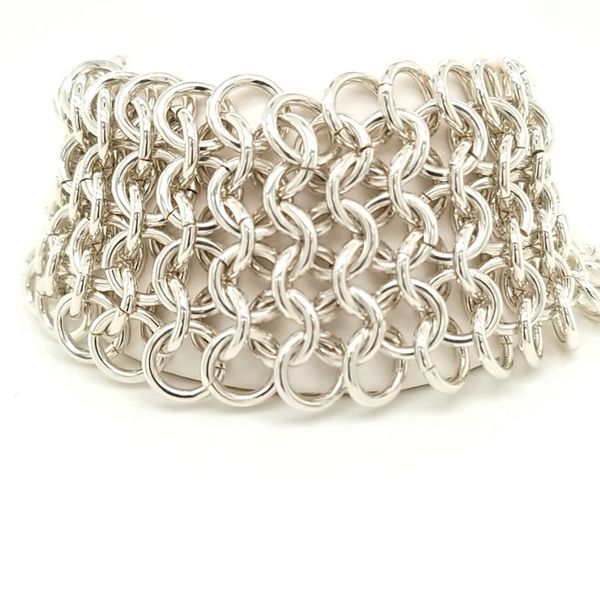 Sterling Silver Handmade Wide Bracelet Carroll's Jewelers Doylestown, PA