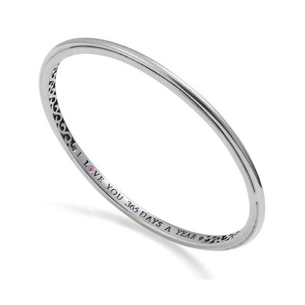 SS Smooth Slip On Bangle Bracelet Carroll's Jewelers Doylestown, PA