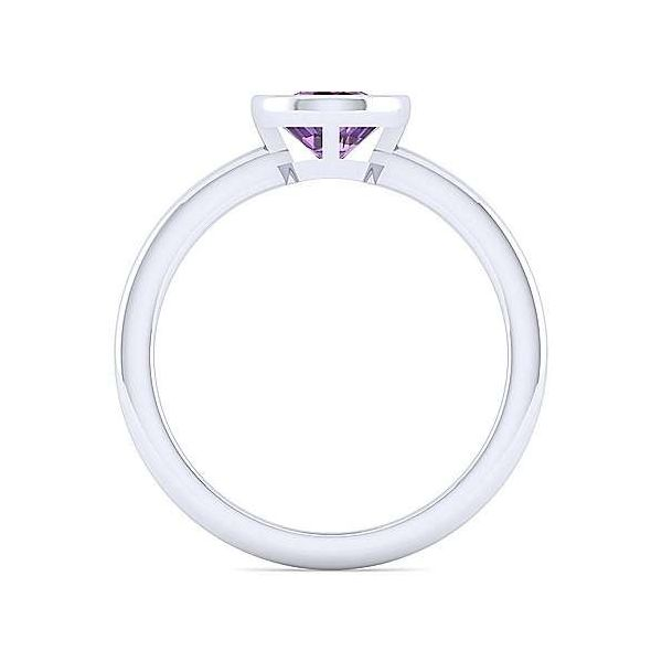 SS Amethyst Ring Image 2 Carroll's Jewelers Doylestown, PA