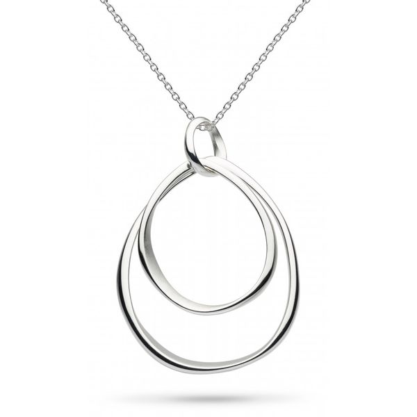 Sterling Silver Multi circle Pendant Carroll's Jewelers Doylestown, PA