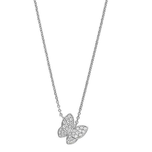 SS Butterfly Necklace Carroll's Jewelers Doylestown, PA