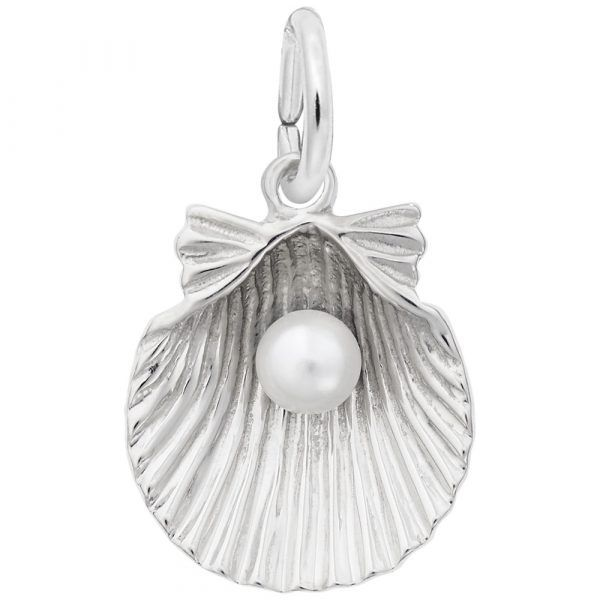 Sterling Silver Shell Charm Carroll's Jewelers Doylestown, PA