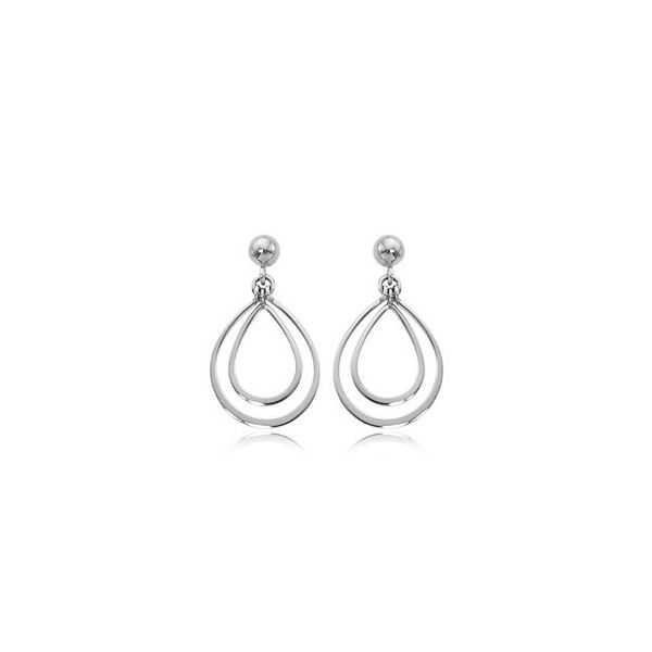 Sterling Silver Dangle Earrings Carroll's Jewelers Doylestown, PA