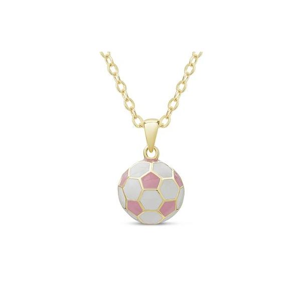Child's Soccer Ball Pendant Carroll's Jewelers Doylestown, PA