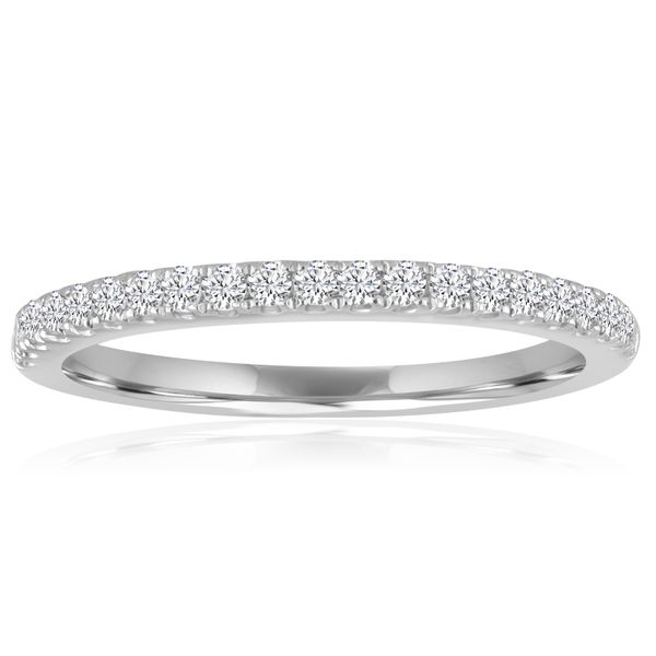 Round Pave Wedding Band 1/5ctw The Ring Austin Round Rock, TX