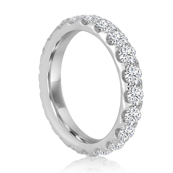 Round Split Prong Eternity Band 2.0ctw Image 2 The Ring Austin Round Rock, TX