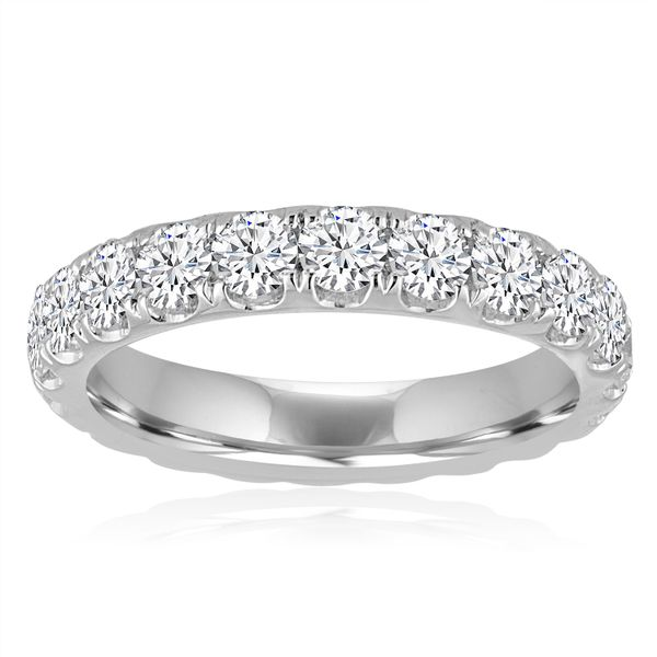 Round Split Prong Eternity Band 2.0ctw The Ring Austin Round Rock, TX