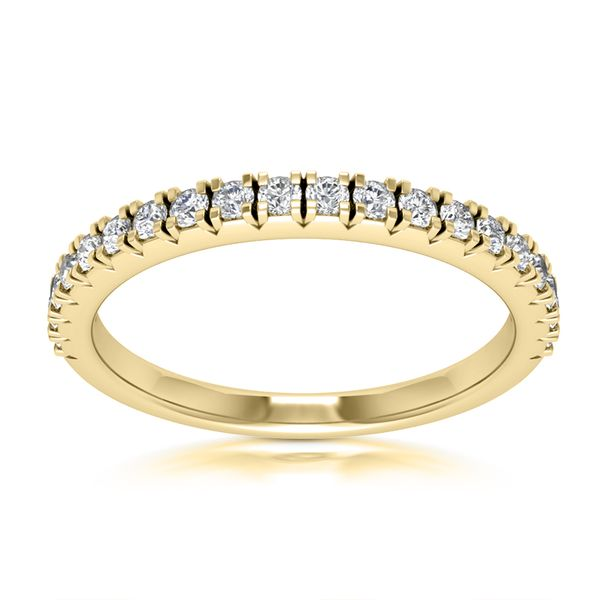 Ladies Prong Set Diamond Wedding Band Image 3 The Ring Austin Round Rock, TX