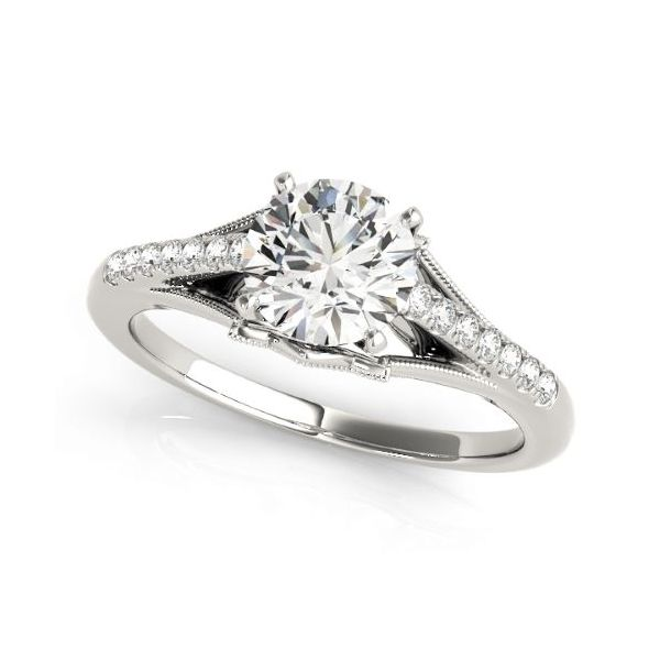 14k WG Diamond Engagement Ring The Ring Austin Round Rock, TX