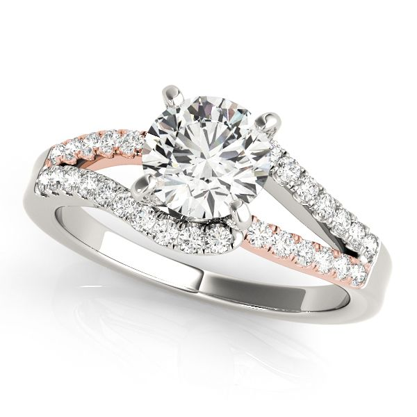 Split Shank Diamond Engagement Ring The Ring Austin Round Rock, TX