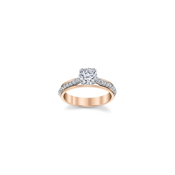 14k WG/RG 8 Prong Diamond Engagement Ring The Ring Austin Round Rock, TX