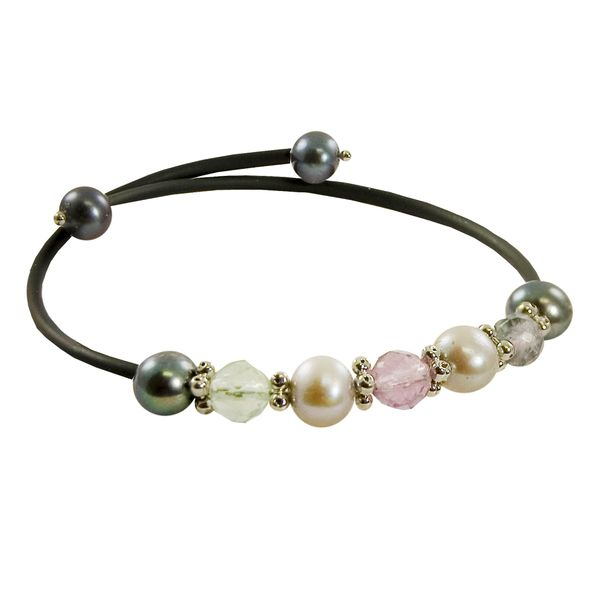 Pearl and gemstone stackable bracelet The Ring Austin Round Rock, TX