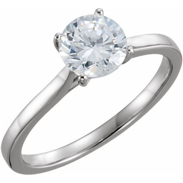 Classic Thin Cathedral Solitaire The Ring Austin Round Rock, TX