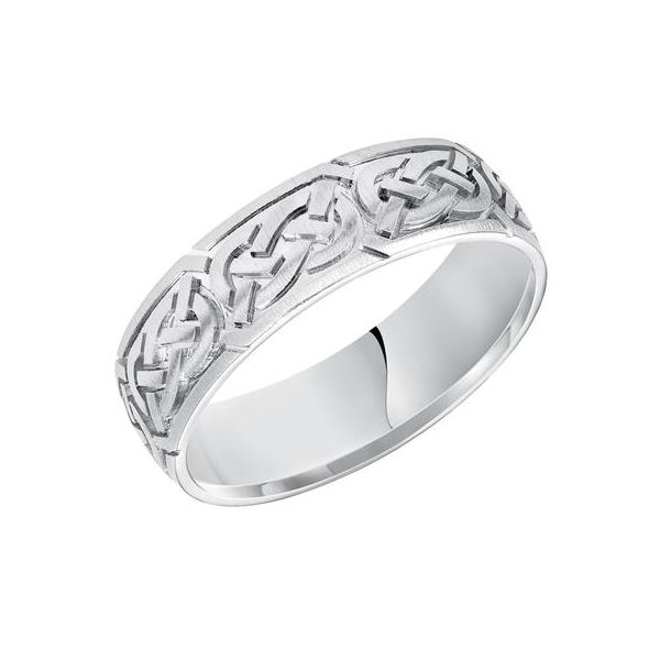 14K WG Celtic knot design band The Ring Austin Round Rock, TX