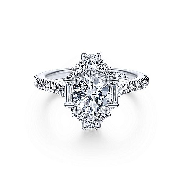 Diamond Semi-Mount Ring Tipton's Fine Jewelry Lawton, OK