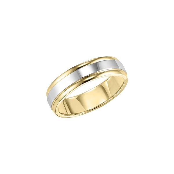 Gents Gold Wedding Band Tipton's Fine Jewelry Lawton, OK