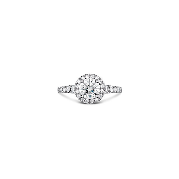 Hearts on Fire Engagement Ring Valentine's Fine Jewelry Dallas, PA