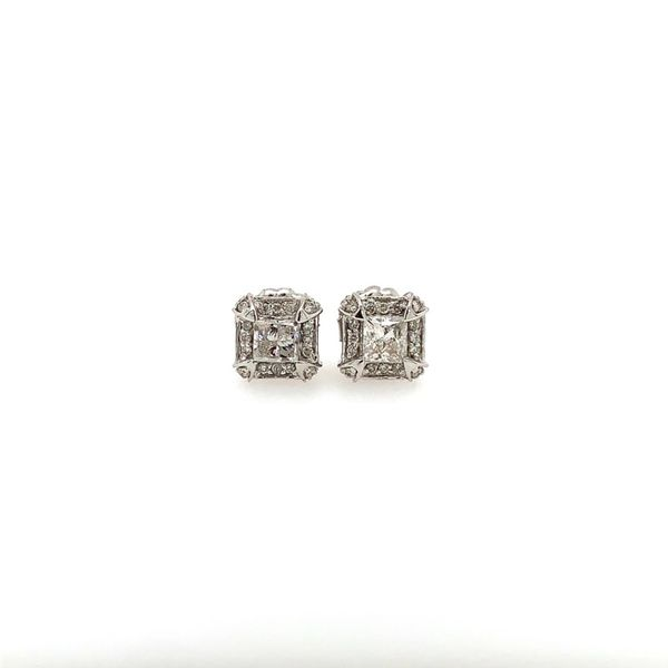 DIAMOND EARRINGS/GOLD/PLATINUM Valentine's Fine Jewelry Dallas, PA