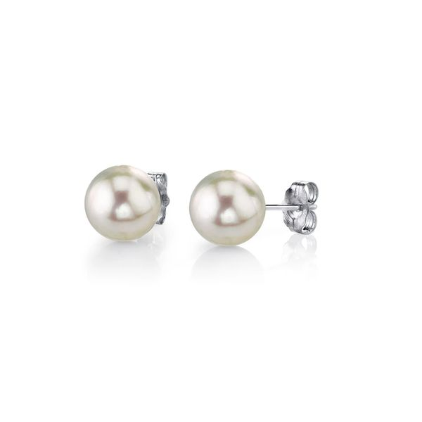 PEARL EARRINGS/GOLD/PLATINUM Valentine's Fine Jewelry Dallas, PA