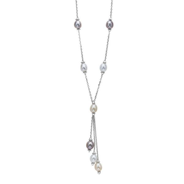 PEARL PENDANTS/NECKLACES/SILVER/SILVER&GOLD COMBO Valentine's Fine Jewelry Dallas, PA
