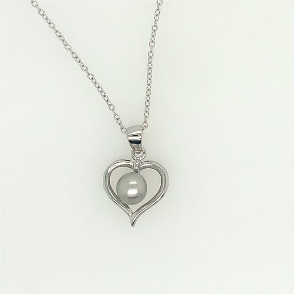 Gems One PEARL PENDANTS/NECKLACES/SILVER/SILVER&GOLD COMBO Valentine's Fine Jewelry Dallas, PA