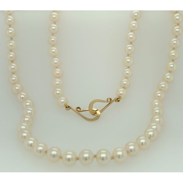 PEARL NECKLACE/GOLD/PLATINUM Valentine's Fine Jewelry Dallas, PA