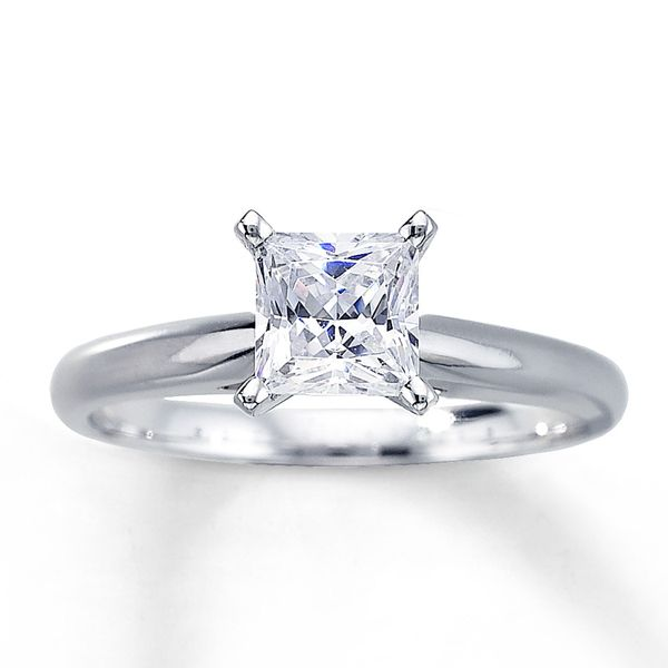 Diamond Solitaire Engagement Ring Van Adams Jewelers Snellville, GA