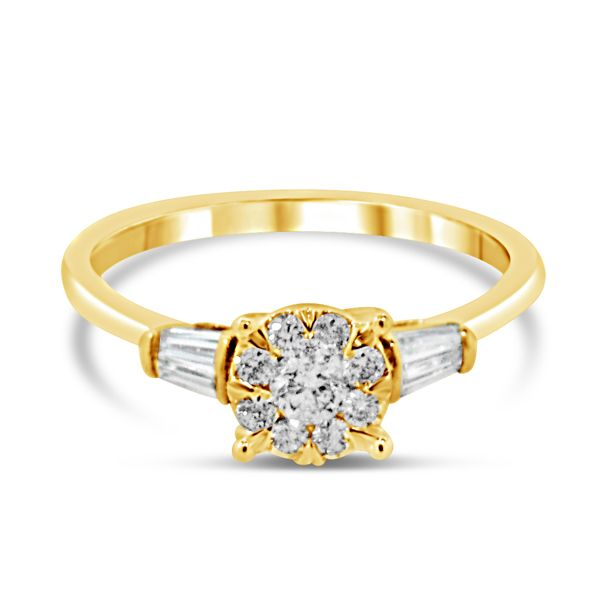 14K Diamond Lovebright Engagement Ring Van Adams Jewelers Snellville, GA