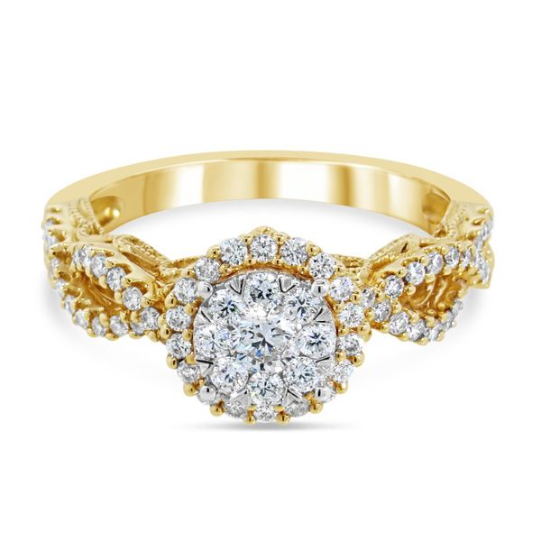 14K Diamond Engagement Ring Van Adams Jewelers Snellville, GA