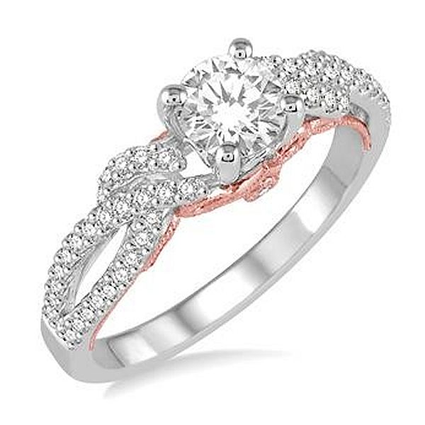 Fully Set Diamond Engagement Ring Van Adams Jewelers Snellville, GA