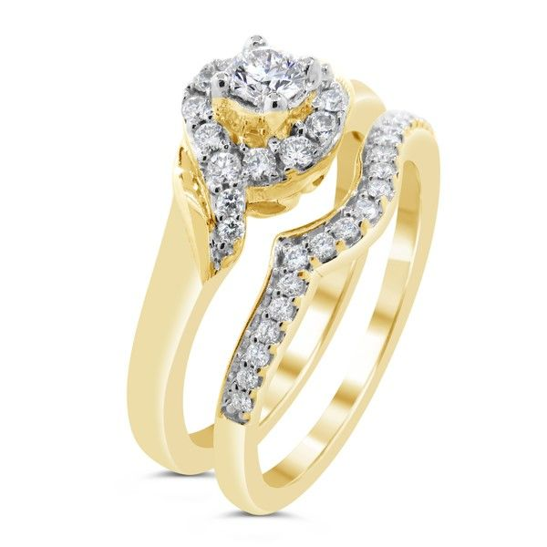 14K Diamond Wedding Set Van Adams Jewelers Snellville, GA