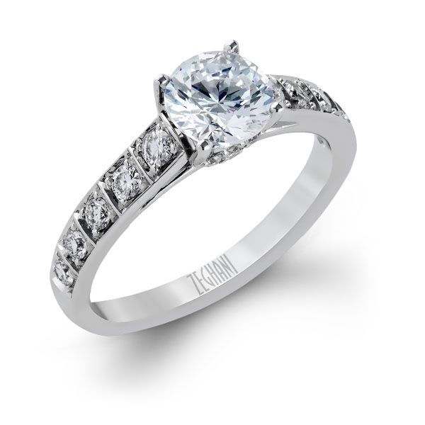 Engagement Ring Setting only Van Adams Jewelers Snellville, GA