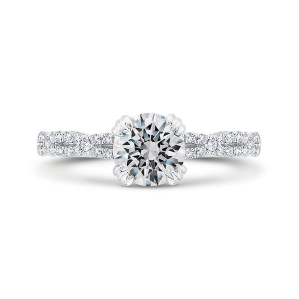 14K White Gold Diamond Semi-Mount Van Adams Jewelers Snellville, GA
