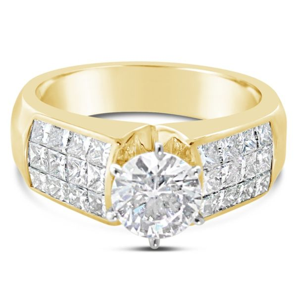 18K Yellow Gold Diamond Semi-Mount Van Adams Jewelers Snellville, GA