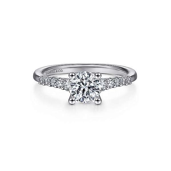Round Diamond Engagement ring Van Adams Jewelers Snellville, GA