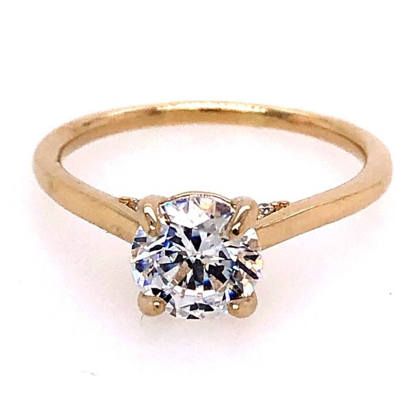 14K Yellow Gold Diamond Semi-Mount Van Adams Jewelers Snellville, GA