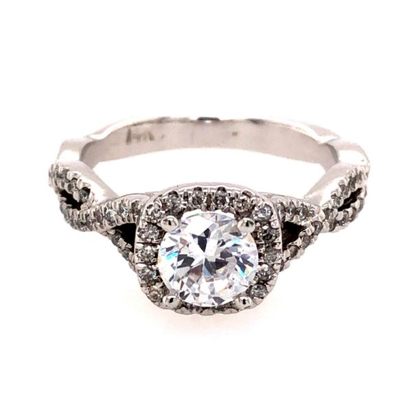 Van Adam's Collection 14K White Gold Diamond Semi-Mount Van Adams Jewelers Snellville, GA