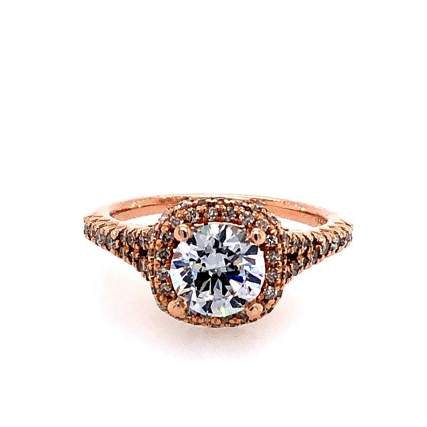 14K Diamond Semi-Mount Engagement Ring Van Adams Jewelers Snellville, GA