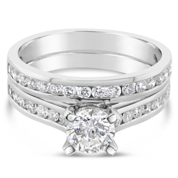 14K Diamond Semi-Mount Wedding Set Van Adams Jewelers Snellville, GA